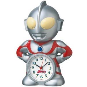 セイコークロック ウルトラマン 目覚まし時計 おしゃべりアラーム JF336A|amuseland