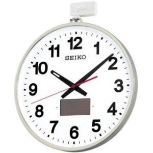 セイコークロック 掛け時計 オフィスタイプ(ソーラー屋外用) 電波クロック SF211S|amuseland