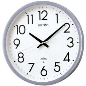 セイコークロック 掛け時計 スイープ 電波時計 ツイン・パ オフィスタイプ KS265S|amuseland