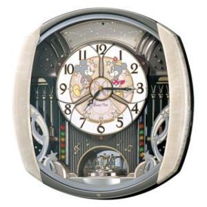 セイコークロック ディズニータイム 掛け時計 ミッキー&フレンズ ミッキーマウス ミニーマウス 電波時計 ツイン・パ FW563A|amuseland