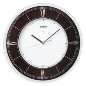 【◆在庫有り◆】セイコークロック 掛け時計 インターナショナル・コレクション 電波時計 木枠 KX321B|amuseland