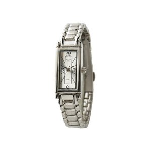Alessandra Olla アレサンドラオーラ 腕時計 レクタンギュラー メタルバンド シルバー レディース AO-240-2 ◆|amuseland