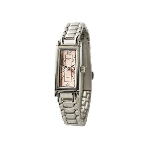 Alessandra Olla アレサンドラオーラ 腕時計 レクタンギュラー メタルバンド ピンクゴールド AO-240-4 ◆|amuseland