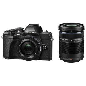 オリンパス ミラーレスデジタル一眼カメラ OM-D E-M10 Mark III EZダブルズームキット [ブラック]|amuseland