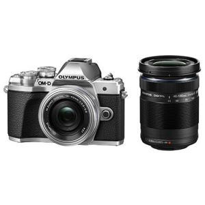 オリンパス ミラーレスデジタル一眼カメラ OM-D E-M10 Mark III EZダブルズームキット [シルバー]|amuseland