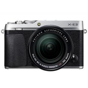 富士フイルム ミラーレスデジタル一眼カメラ FUJIFILM X-E3 レンズキット [シルバー]|amuseland