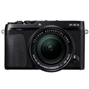 富士フイルム ミラーレスデジタル一眼カメラ FUJIFILM X-E3 レンズキット [ブラック]|amuseland