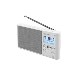 SONY ワンセグTV音声/FMステレオ/AMラジオ XDR-56TV (W) [ホワイト] [納期:約3週間]|amuseland