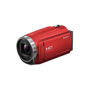SONY デジタルHDビデオカメラレコーダー HDR-CX680 (R) [レッド]|amuseland