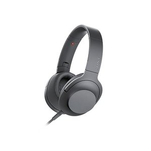 SONY ステレオヘッドホン h.ear on 2 MDR-H600A (B) [グレイッシュブラッ...
