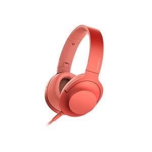 SONY ステレオヘッドホン h.ear on 2 MDR-H600A (R) [トワイライトレッド...