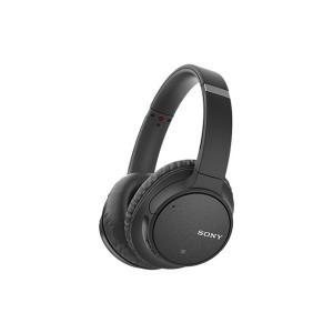 SONY ワイヤレスノイズキャンセリングステレオヘッドセット WH-CH700N (B) [ブラック...