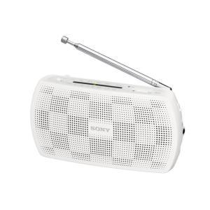 SONY ステレオポータブルラジオ SRF-19 (W) [ホワイト]|amuseland