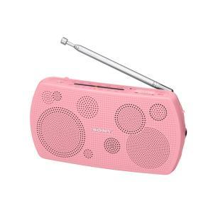 SONY ステレオポータブルラジオ SRF-19 (P) [ピンク]|amuseland