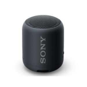 SONY 防水・防塵 Bluetoothスピーカー SRS-XB12 (B) [ブラック] amuseland