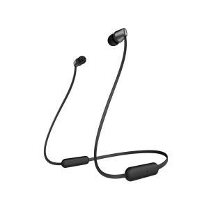 SONY Bluetoothワイヤレスステレオヘッドセット WI-C310 (B) [ブラック]