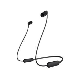 SONY Bluetoothワイヤレスステレオヘッドセット WI-C200 (B) [ブラック]
