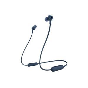 WI-XB400 (L) ブルー SONY ソニー Bluetoothワイヤレスイヤホン EXTRA...