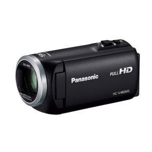 パナソニック デジタルハイビジョンビデオカメラ HC-V480MS-K [ブラック]|amuseland