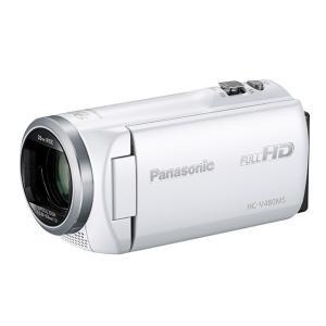 パナソニック デジタルハイビジョンビデオカメラ HC-V480MS-W [ホワイト]|amuseland