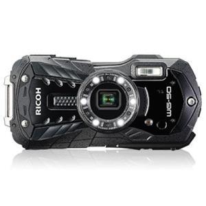 【納期:約2カ月】リコー 防水コンパクトデジタルカメラ RICOH WG-50 [ブラック]|amuseland