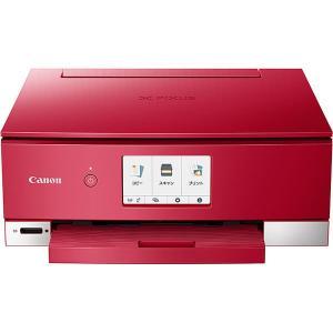 CANON キャノン A4インクジェットプリンター PIXUS TS8330 レッド|amuseland