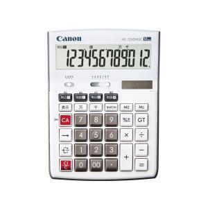 CANON キャノン 電卓 HS-1250WUC 軽減税率対応|amuseland