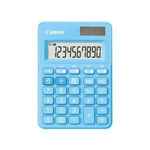 CANON キャノン 電卓 LS-100WT-AB アクアブルー 軽減税率対応|amuseland