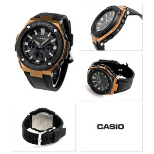 CASIO/カシオ G-SHOCK G-STEEL 電波ソーラー 腕時計 GST-W120L-1AER 海外モデル ◆|amuseland