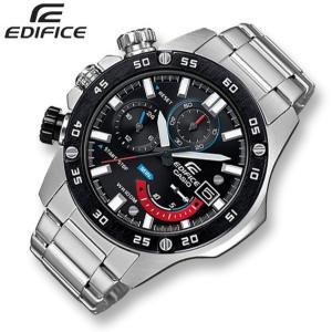 CASIO カシオ EDIFICE エディフィス クロノグラフ腕時計 EFR-558DB-1A 海外モデル 100m防水 左リューズ ◆|amuseland