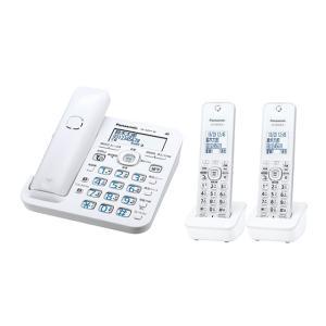 パナソニック デジタルコードレス電話機 RU・RU・RU VE-GZ51DW-W [ホワイト] 子機2台付き|amuseland