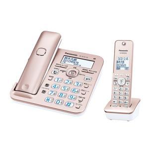 パナソニック デジタルコードレス電話機 RU・RU・RU VE-GZ51DL-N [ピンクゴールド] 子機1台付き|amuseland