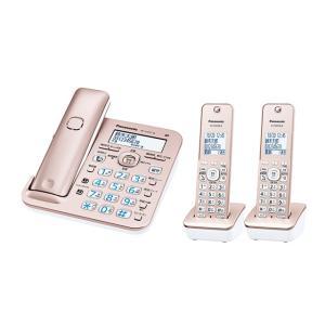 パナソニック デジタルコードレス電話機 RU・RU・RU VE-GZ51DW-N [ピンクゴールド] 子機2台付き|amuseland