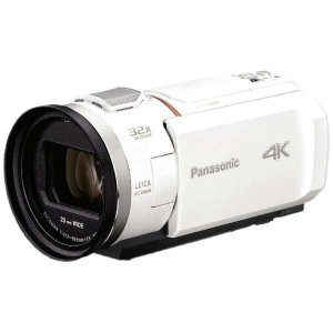 パナソニック 4K対応 デジタルビデオカメラ HC-VX2M-W [ピュアホワイト]|amuseland