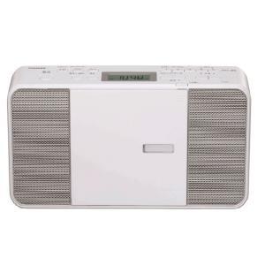 東芝 CDラジオ TY-C251(W) [ホワイト] amuseland