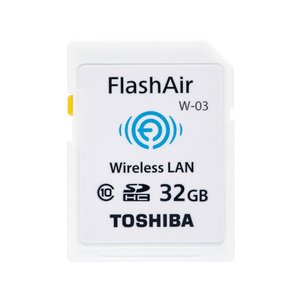 東芝 SDメモリーカード FlashAir W-03 SD-WE032G [32GB]