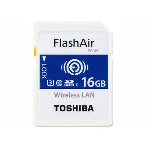 東芝 SDHCメモリーカード FlashAir W-04 SD-UWA016G [16GB] amuseland