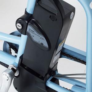 ミムゴ 電動アシスト三輪自転車 アシらくチャーリー MG-TRM20EB [ライトブルー] + 専用充電器|amuseland|03