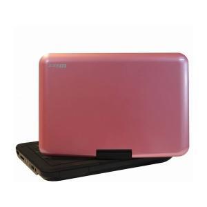 ダイニチ電子 10.1インチ ポータブルDVDプレーヤー Wizz DV-PW1040P [ピンク]|amuseland