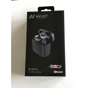 AVIOT アビオット 完全ワイヤレスイヤホン TE-D01d-BK [Black] 防水 ★|amuseland