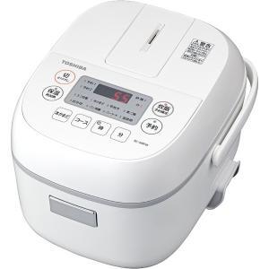 東芝 マイコンジャー炊飯器(3合炊き) RC-5MFM(W) ホワイト amuseland