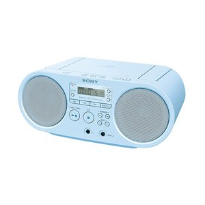 SONY CDラジオ ZS-S40 (L) [ブルー]