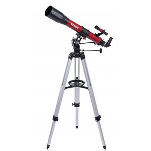 Vixen/ビクセン 天体望遠鏡 スペースアイ700 限定色:RED 2段伸縮式アルミ三脚付 ◆|amuseland