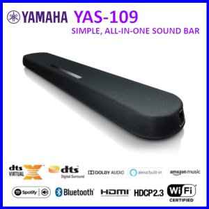 YAMAHA ヤマハ フロントサラウンドシステム YAS-109|amuseland