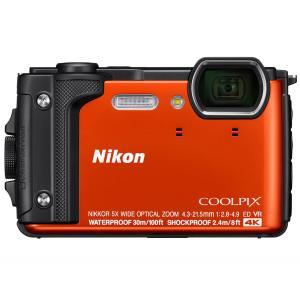 【納期:約4週間】ニコン コンパクトデジタルカメラ COOLPIX W300 [オレンジ]|amuseland