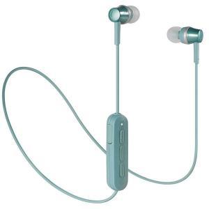audio-technica オーディオテクニカ Bluetoothイヤホン Sound Reality ATH-CKR300BT GR グリーン|amuseland