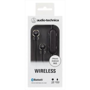 audio-technica オーディオテクニカ ATH-CK150BT BK ブラック Bluetoothワイヤレスヘッドホン|amuseland