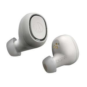 audio-technica オーディオテクニカ 完全ワイヤレスイヤホン ATH-CK3TW WH ホワイト|amuseland