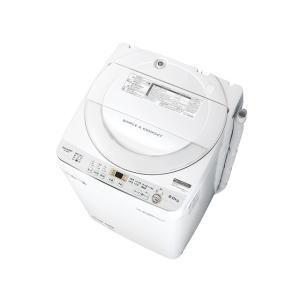 SHARP シャープ 簡易乾燥機能付き 6.0kg 全自動洗濯機 ES-GE6C-W amuseland