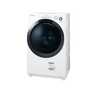 シャープ 7kg ドラム式洗濯乾燥機 ES-S7D-WL 左開き プラズマクラスター amuseland